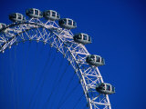 The Ba London Eye, the World&#39;s Tallest Ferris Wheel., London, England Photographic Print by Setchfield Neil