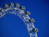 The Ba London Eye, the World's Tallest Ferris Wheel., London, England Photographic Print by Setchfield Neil