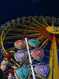 Ferris Wheel During Festival in Town of Aschaffenburg, Bavaria, Germany Photographic Print by Johnson Dennis