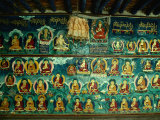 Mural at Tashilhunpo Monastery Depicting Various Teachers, Buddhas and Deities, Shigatse, Tibet Photographic Print by Richard I'Anson