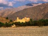 Al Nakahl Fort in Omani Desert, Nakhal, Oman, Photographic Print