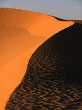 Sculptured Sand Dunes in the Grand Erg Oriental Sahara Desert, Ghadhames, Libya Photographic Print by Doug McKinlay