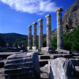 The Ancient City of Priene in Aydin Was Carried to Its Present Locality in the Year 350 BC,Turkey Photographic Print by Wes Walker