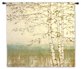 Birch Silhouette II Wall Tapestry by James Wiens