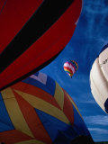 Hot Air Balloon Race, Calgary, Canada Photographic Print by Rick Rudnicki