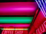 Neon Lights, Reno, Nevada, USA Photographic Print by Ray Laskowitz