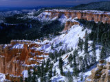 &quot;Hoodoos&quot; of Bryce Canyon from Yovimpa Point Bryce Canyon National Park, Utah, USA Photographic Print by Rob Blakers