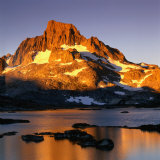 Banner Peak and Thousand Island Lake in the Sierra Nevada Mountains, California, USA Fotografisk trykk av Wes Walker