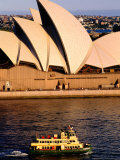 Ferry and Sydney Opera House, Sydney, Australia Photographic Print by John Banagan
