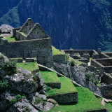 Machu Picchu Overlooking the Sacred Urubamba River Valley, Machu Picchu, Cuzco, Peru Photographic Print by Wes Walker