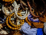 Detail of Beads for Jewelry Making, Makola Market, Accra, Ghana Photographic Print by Alison Jones