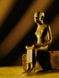 Imhotep Statue, Egypt Photographic Print by Kenneth Garrett
