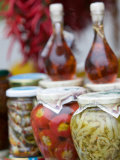 Marinated Vegetables, Positano, Amalfi Coast, Campania, Italy Photographic Print by Walter Bibikow