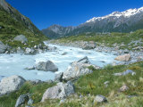 Hooker River, Mt. Cook National Park, South Island, New Zealand Photographic Print by Rob Tilley