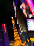 Neon Sign, The Paris Casino, Las Vegas, Nevada, USA Photographic Print by Walter Bibikow