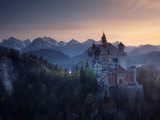 Neuschwanstein Castle, Germany Photographic Print by Russell Gordon