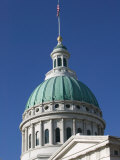 Old Courthouse Dome, Gateway Arch Area, St. Louis, Missouri, USA Photographic Print by Walter Bibikow