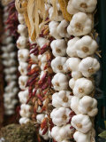 Garlic, Ischia Ponte, Ischia, Bay of Naples, Campania, Italy Photographic Print by Walter Bibikow