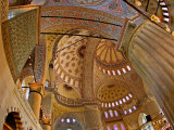 Interior of the Blue Mosque, Istanbul, Turkey Valokuvavedos tekijn Joe Restuccia III