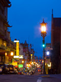 Chinatown at Night, San Francisco, California, USA Photographic Print by Julie Eggers