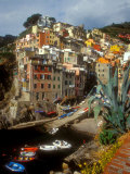 Town View, Rio Maggiore, Cinque Terre, Italy Photographic Print by Alison Jones