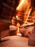 Antelope Canyon Silhouettes in Page, Arizona, USA Photographie par Bill Bachmann