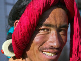Tibetan Man, Tibet, China Photographic Print by Keren Su