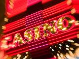 Freemont Street Experience, Downtown Binion's Horseshoe Casino, Las Vegas, Nevada, USA Photographic Print by Walter Bibikow