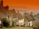 Shaftesbury, Gold Hill, Dorset, England Photographic Print by Walter Bibikow