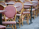 Cafe Tables, Place du Tertre, Montmartre, Paris, France Photographic Print by Walter Bibikow