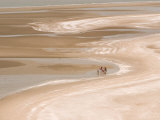 Travelers in Remote Sam Roi Yot Beach Area, Thailand Photographic Print by Gavriel Jecan