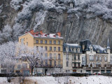 Quai De France Along the Isere River, Grenoble, Isere, French Alps, France Photographic Print by Walter Bibikow