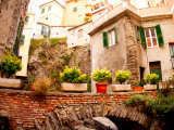 Architecture of Manarola, Cinque Terre, Italy Photographic Print by Bill Bachmann