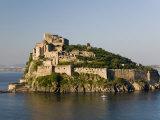 15th Century Castello Aragonese d'Ischia, Ischia Ponte, Ischia, Bay of Naples, Campania, Italy Photographic Print by Walter Bibikow
