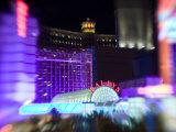 Neon Sign, Bally's Casino, Las Vegas, Nevada, USA Photographic Print by Walter Bibikow