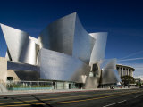 Walt Disney Concert Hall, Los Angeles, California, USA Photographic Print by Walter Bibikow