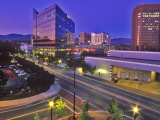 Night View of Downtown Boise, Idaho, USA Photographic Print by Chuck Haney