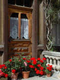 Entrance to Chalet Maria, Zermatt, Switzerland Photographic Print by Lisa S. Engelbrecht