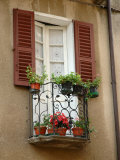 Window Detail, Lake Orta, Orta, Italy Photographic Print by Lisa S. Engelbrecht