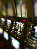 Slot Machines, Luxor Casino, Las Vegas, Nevada, USA Photographic Print by Walter Bibikow