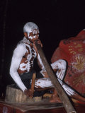 Aboriginal Dancer Didgeridoo, Pamagirri, Queensland, Cairns, Australia Photographic Print by Cindy Miller Hopkins