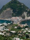 Town View from Serrara Overlook, Sant'Angelo, Ischia, Bay of Naples, Campania, Italy Photographic Print by Walter Bibikow