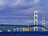 Mackinac Bridge, Michigan, USA Photographic Print by Chuck Haney