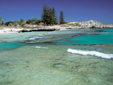The Basin, Rottnest Island, Perth Area, Western Australia, Australia Photographic Print by Walter Bibikow