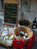 Wine and Cheese Shop, Lake Garda, Bardolino, Italy Photographic Print by Lisa S. Engelbrecht
