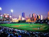 Baseball Game at Heinz Stadium, Pittsburgh, Pennsylvania, USA Fotodruck von Bill Bachmann