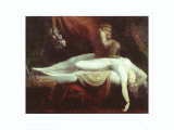 The Nightmare Plakater af Henry Fuseli