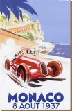 Geo Ham - Monako, 1937 - Şasili Gerilmiş Tuvale Reprodüksiyon
