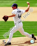 Jake Peavy 2008 Pitching Action Photo