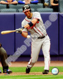 Jeff Francoeur 2008 Batting Action Photo